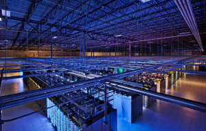 Google Cloud Server Room